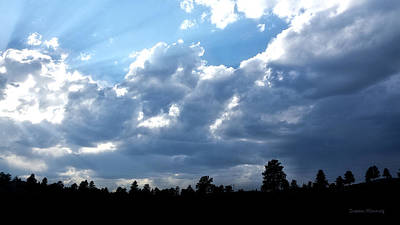 Photograph - Montana Sky 2 by Susan Kinney