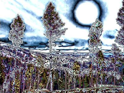 Montana Trippin Art Print by Susan Kinney
