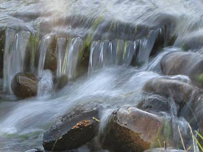 Montana Waterfall Art Print by Kristy Marsich