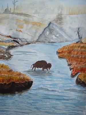 Montana Wildlife Art Print by Warren Thompson