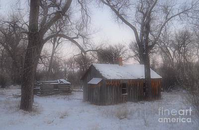 Photograph - Montana Winter Twilight by Chalet Roome-Rigdon