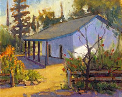 Painting - Montanez Adobe, San Juan Capistrano by Konnie Kim