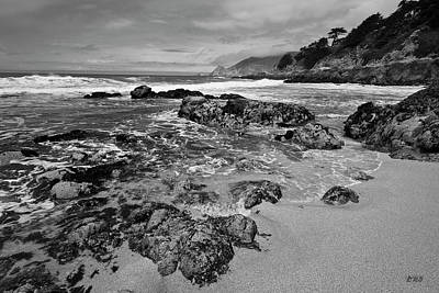 Photograph - Montara Beach I Bw by David Gordon