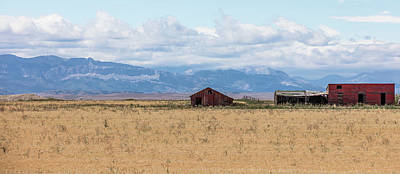 Photograph - Montata Ranch Among Mountains  by John McGraw