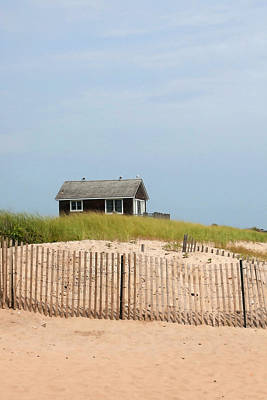 Montauk Beach House Art Print