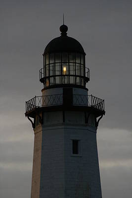 Photograph - Montauk Lighthouse At Dawn by Christopher Kirby
