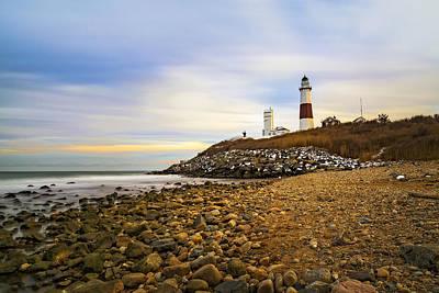 Photograph - Montauk Lighthouse by Susan Candelario