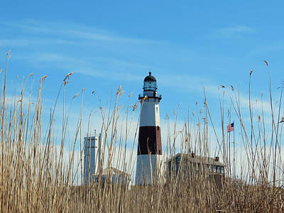 Montauk Point Lighthouse-3 Art Print