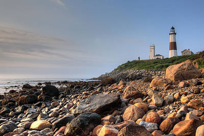 Montauk Point Lighthouse Art Print