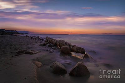 Photograph - Montauk Sunset Boulders by Alissa Beth Photography