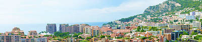 Photograph - Monte Carlo Cityscape. by Marek Poplawski