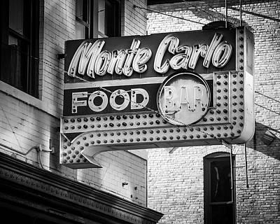 Monte Carlo Food Original by Perry Webster
