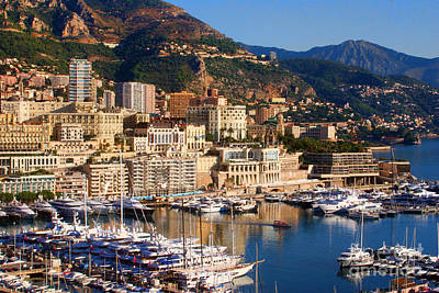 Monte Carlo Art Print by Tom Prendergast
