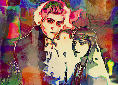 Painting - Monte Cristo - Vintage Pop Art by Ian Gledhill
