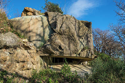 Photograph - Monte Moro Bunkers - Bunkers Monte Moro by Enrico Pelos