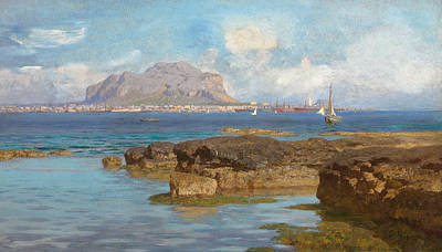 Monte Pellegrino Art Print