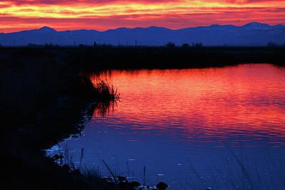 Photograph - Monte Vista Sunrise by Mike Flynn