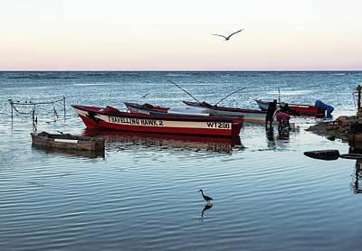 Wall Art - Photograph - Montego Bay Fishing Scene by Steven Richman