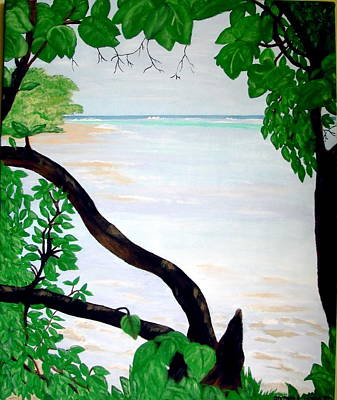 Painting - Montego Bay Jamaica by Stephanie Moore
