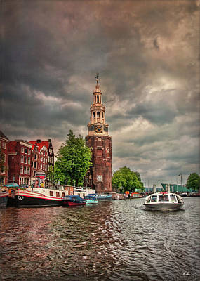 Photograph - Montelbaan Tower by Hanny Heim