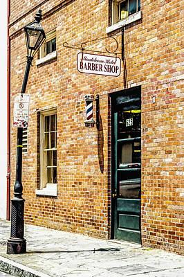 Photograph - Monteleone Hotel Barber Shop by Frances Ann Hattier