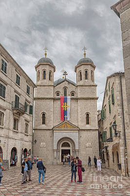 Photograph - Montenegro Kotor Church Of Saint Nicholas by Antony McAulay