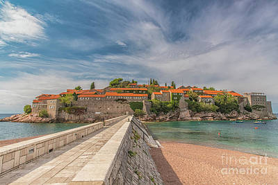 Photograph - Montenegro Sveti Stefan by Antony McAulay