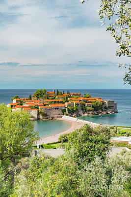 Photograph - Montenegro Sveti Stefan Resort by Antony McAulay