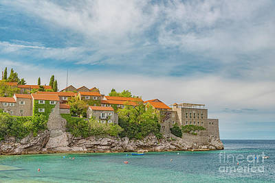 Photograph - Montenegro Sveti Stefan Right Side by Antony McAulay