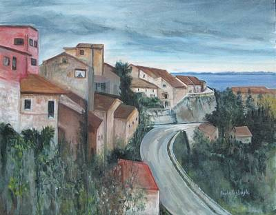 Painting - Montepulciano by Paula Pagliughi