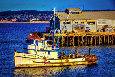 Photograph - Monterey Bay Fishing Boat by Garry Gay