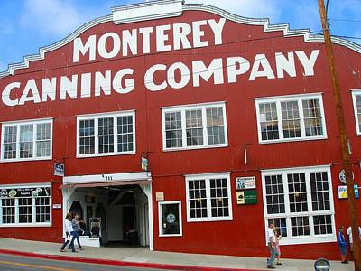 Monterey Canning Company Art Print by Candace Garcia