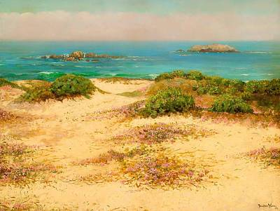Scenic Drive Painting - Monterey Coast - 17 Mile Drive by Mountain Dreams