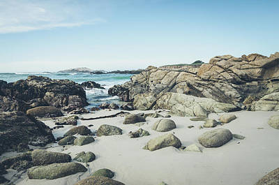 Photograph - Monterey Coastline by Margaret Pitcher
