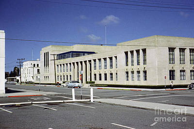 Photograph - Monterey County Courthouse, Salinas April 1959 by California Views Mr Pat Hathaway Archives