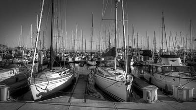 Photograph - Monterey Docks by Robert Melvin