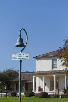 Photograph - Monterey El Camino Real Bell by Mark Miller