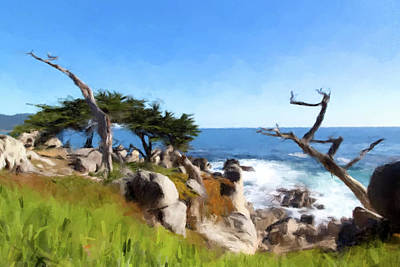 Painting - Monterey by Gary Grayson