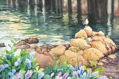 Monterey Wharf Painting - Monterey Gull by Tamara Keiper