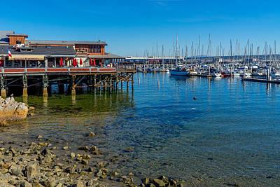 Photograph - Monterey Harbor Morning by Derek Dean