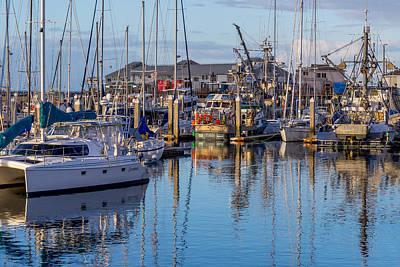 Photograph - Monterey Marina Afternoon by Derek Dean