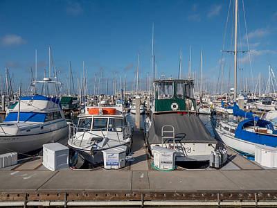 Photograph - Monterey Marina by Derek Dean