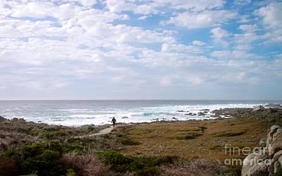 Photograph - Monterey Peninsula Coastline by Carol  Bradley