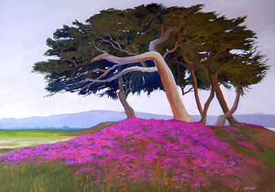 Robert Duvall Painting - Monterey by Robert Duvall