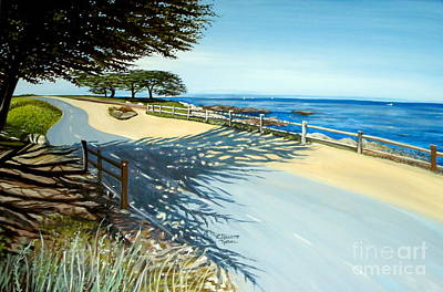 Monterey Shadows Art Print