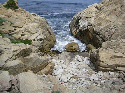 Photograph - Monterey Two Rocks II California by John Shiron