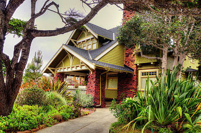 Cityspace Photograph - Monterey Walks, California Shots, Usa by Daniil Belyay