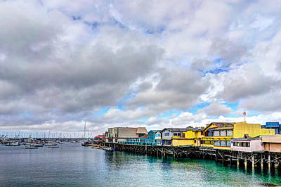 Photograph - Monterey Wharf  by Derek Dean