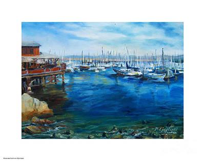 Monterey Wharf Painting - Monterey Wharf by Patty Gaglioti