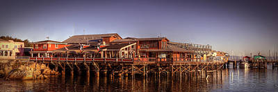 Photograph - Monterey Wharf by Robert Melvin